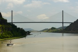 Centennial Bridge, Panama Canal (at Culebra Cut)
