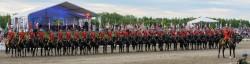 RCMP Musical Ride Sunset Ceremony 2015-412