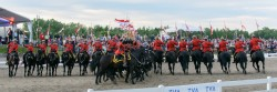 RCMP Musical Ride Sunset Ceremony 2015-529