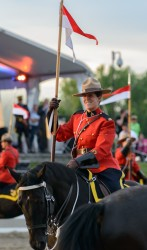 RCMP Musical Ride Sunset Ceremony 2015-561