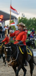 RCMP Musical Ride Sunset Ceremony 2015-565