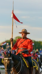 RCMP Musical Ride Sunset Ceremony 2015-595