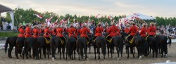 RCMP Musical Ride Sunset Ceremony 2015-661