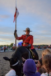 RCMP Musical Ride Sunset Ceremony 2015-723